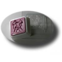 Зодиак - Близнецы, форма для мыла пластиковая