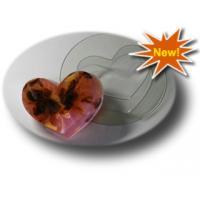 Сердечко МФ, форма для мыла пластиковая, 1шт