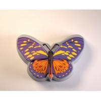 Бабочка 2D, форма силиконовая