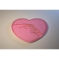 Силиконовый текстурный вкладыш Сердце 01