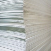 Водорастворимая бумага А4, 50 листов