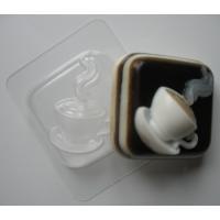 Горячая чашка, форма для мыла пластиковая