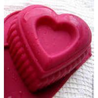 Сердце фигурное, форма силиконовая