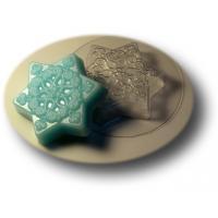Маленькая снежинка МФ, 3шт форма для мыла