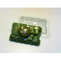 Танк МФ, форма для мыла пластиковая, 1шт
