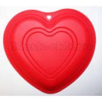 Сердце №2, форма силиконовая