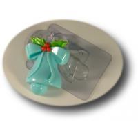 Колокольчик, форма для мыла пластиковая