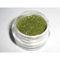Блестки (глиттер) Зелено-Желтые, 100 гр