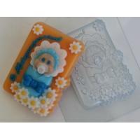 С новорожденным!, форма для мыла пластиковая