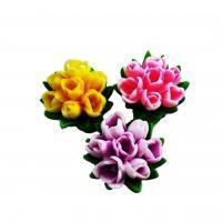 Букет из 7 тюльпанов 3D, форма силиконовая