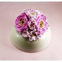 Букет весенних цветов 3D, форма силиконовая