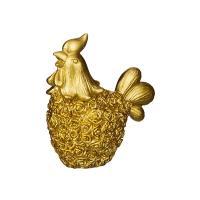 Петух золотой 3D, форма силиконовая
