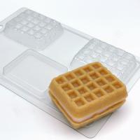Вафля венская EX, 1шт, форма пластиковая