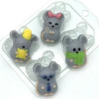Мыши МИНИ EX, 1 шт, форма пластиковая