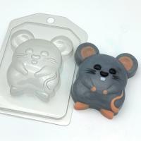 Мышь - Полевка EX, 1 шт, форма пластиковая