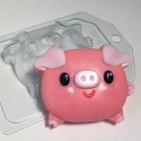 Свинка - Пухляшка ЕХ, 1 шт, форма пластиковая