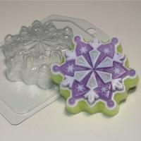 Снежинка 6 ЕХ, 1 шт, форма пластиковая