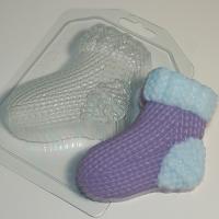Носок вязаный левый ЕХ, 1 шт, форма пластиковая