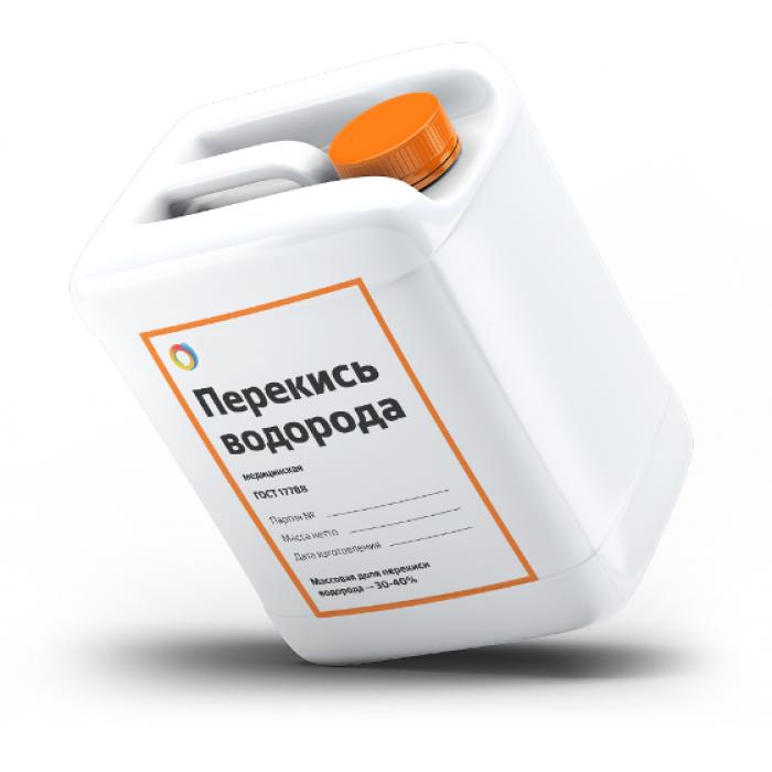 Перекись водорода медицинская 37%, 1000 гр