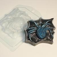 Паук на паутине EX, 1 шт, форма пластиковая