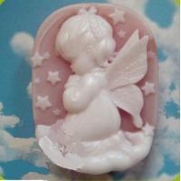 Ангел снов девочка 2D, форма силиконовая