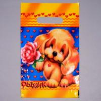 """Пакет """"Рыжик"""" с ручкой, 20*30 см, 50 шт"""