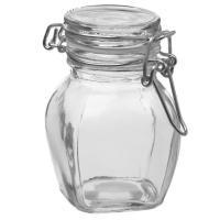 Флакон стекло 0,1 мл Овал с бугельным замком