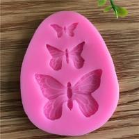 Бабочки мини, форма силиконовая, 1шт