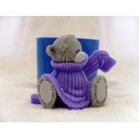 Мишка в свитере №2 3D, форма силиконовая