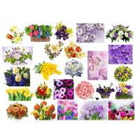 Водорастворимая бумага 8 марта Цветы №3, 1 лист