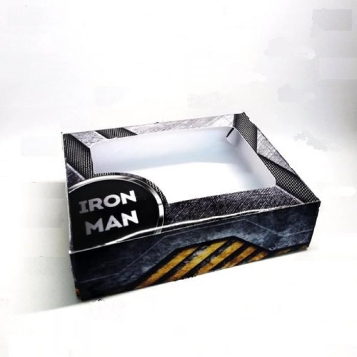 "Коробка №46 ""Iron man"", 15*11*4 см, 1шт"