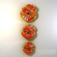 Набор Анютины глазки 3 шт 2D, форма силиконовая