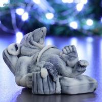 Крыс в шезлонге 3D, форма силиконовая