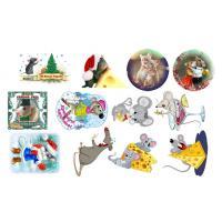 Картинки на водорастворимой бумаге Мышки №1, 1лист