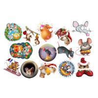 Картинки на водорастворимой бумаге Мышки №3, 1лист