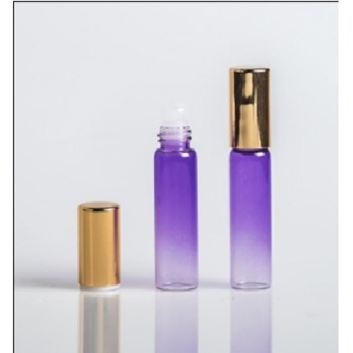 Флакон с роликом 6 мл фиолетовый, 1 шт