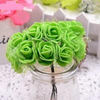 Розы из флоумерана зеленые