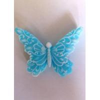 Бабочка ажурная 2D, форма силиконовая