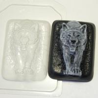 Волк из темноты, форма пластиковая