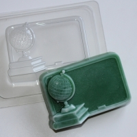 Школьная доска, форма для мыла пластиковая