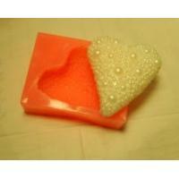 Жемчужное сердце 2D, форма силиконовая