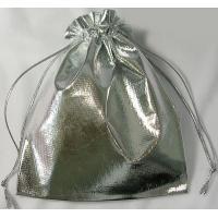 Сумочка из порчи Серебро 13*18 см