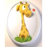 Жираф 2D, форма силиконовая