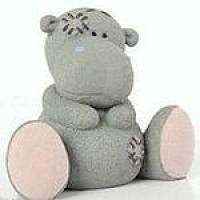 Бегемотик - друг Тедди 3D, форма силиконовая
