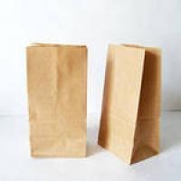 Крафт пакет 90х65х255, 100 шт