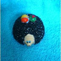 Ежик с грибочком 3D, форма силиконовая