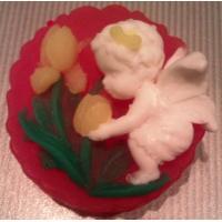 Ангел тюльпанов 2D,форма силиконовая