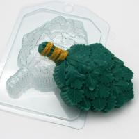 Веник дубовый, 1 шт, форма пластиковая