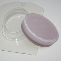 Овал/Мини ЕХ, форма для мыла пластиковая, 1шт