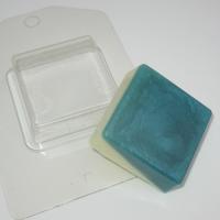 Квадрат/Мини ЕХ, форма для мыла пластиковая, 1шт